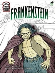 Picture of Frankenstein Color Your Own Graphic Novel