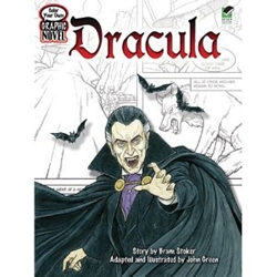 Picture of Dracula Color Your Own Graphic Novel