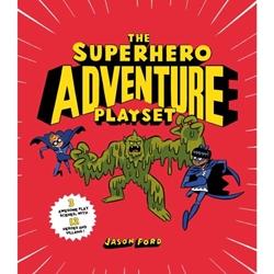 Picture of The Superhero Adventure Playset