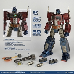 Picture of Optimus Prime Classic Edition Premium Scale 3A Figure