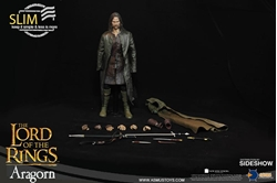 Picture of Lord of the Rings Aragorn Slim Version Sixth Scale Figure