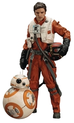 Picture of Star Wars Poe Dameron and BB-8 ArtFX+ Statue