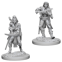 Picture of Dungeons & Dragons Nolzur's Marvellous Unpainted Elf Female Bard Miniatures