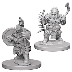 Picture of Dungeons & Dragons Nolzur's Marvellous Unpainted Dwarf Male Barbarian Miniatures