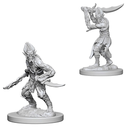 Picture of Dungeons and Dragons Nolzur's Marvelous Unpainted Githyanki Miniatures