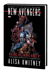 Picture of New Avengers Breakout Prose Novel HC