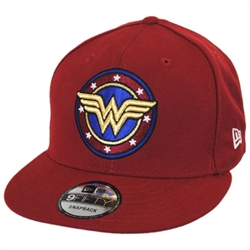 Picture of Wonder Woman Medallion 9Fifty Snapback Cap