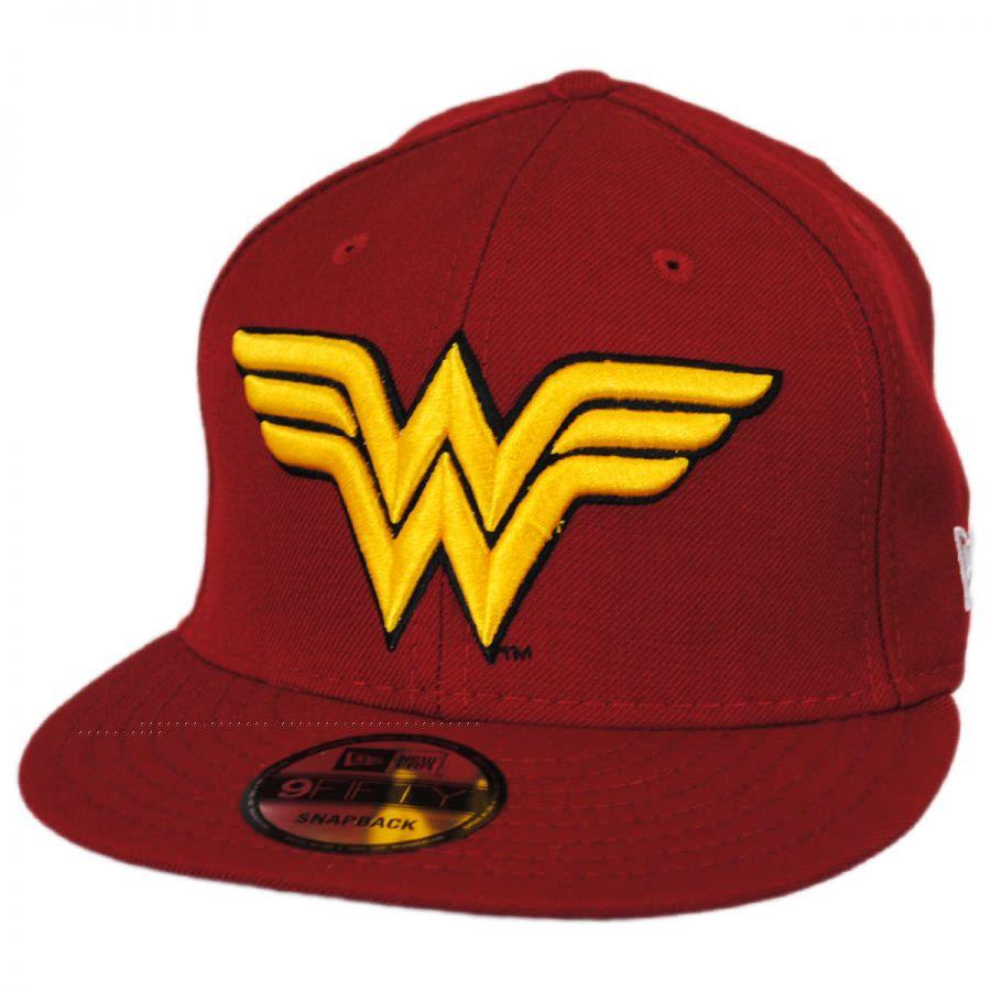 aea4598d95d3b Bedrock City Comic Company. Wonder Woman Symbol 9Fifty Snapback Cap