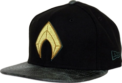 Picture of Aquaman Black 9Fifty Snapback Cap