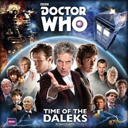 Picture of Doctor Who Time of the Daleks Board Game
