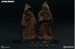 Picture of Star Wars Jawa Sixth Scale Figure Set
