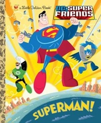 Picture of DC Super Friends Superman! Little Golden Book