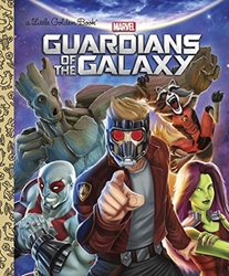 Picture of Guardians of the Galaxy Little Golden Book