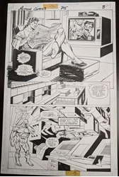 Picture of Gil Kane Action #715 Page 8 Original Art