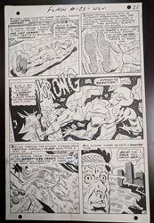 Picture of Ross Andru Flash #123 Page 21 Original Art