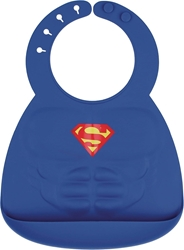 Picture of Superman Silicone Molded Bib