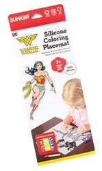 Picture of Wonder Woman Silicone Coloring Placemat