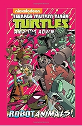 Picture of Teenage Mutant Ninja Turtles Amazing Adventures Robotanimals HC