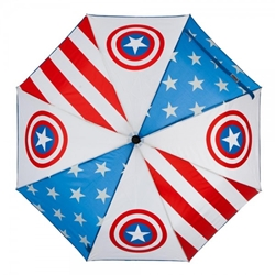 Picture of Marvel Captain America Panel Umbrella