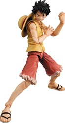 Picture of One Piece Monkey D Luffy Past Blue Version Yellow Figure