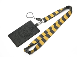 Picture of Harry Potter Hufflepuff Logo Lanyard