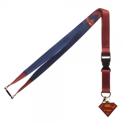 Picture of Superman Suit Texture Lanyard