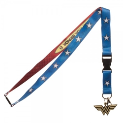 Picture of DC Comics Wonder Woman Suit Up Lanyard
