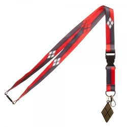 Picture of DC Comics Harley Quinn Suit Up Lanyard