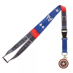 Picture of Captain America Suit Up Lanyard