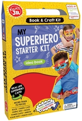 Picture of Klutz Jr My Superhero Starter Kit Idea Book