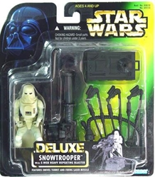 Picture of Star Wars Snowtrooper Deluxe Power of the Force Action Figure