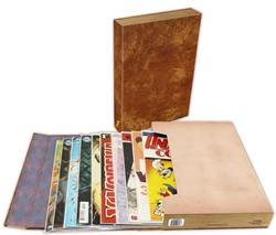 "Picture of Comic 1.5"" Stor-Folio Brown"