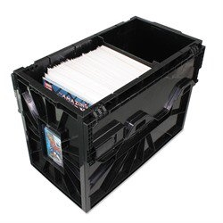 Picture of Short Comic Plastic Black Bin