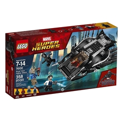 Picture of LEGO Marvel Superheroes Black Panther Royal Talon Fighter Attack 358 ocs