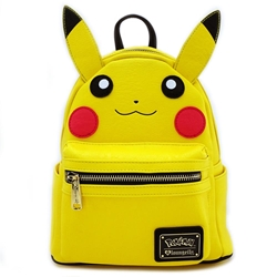Picture of Pokemon Pikachu Cosplay Faux Leather Mini Backpack