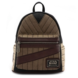 Picture of Loungefly x Star Wars: The Last Jedi Rey Cosplay Faux Leather Mini Backpack