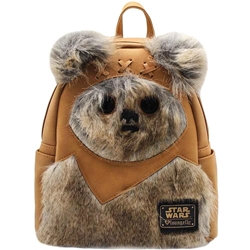 Picture of Loungefly x Star Wars Ewok Faux Suede Mini Backpack