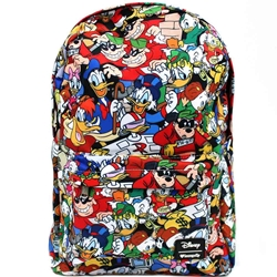 Picture of Loungefly x Disney DuckTales Character All-Over-Print Backpack