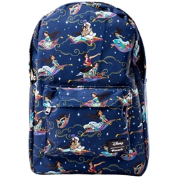 Picture of Loungefly x Disney Aladdin Carpet Ride All-Over-Print Backpack