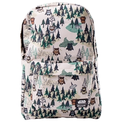 Picture of Loungefly x Star Wars Ewok Forest All-Over-Print Backpack