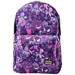 Picture of Loungefly x Pokémon Ghost Type All-Over-Print Backpack