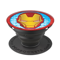 Picture of Iron Man Icon Phone Grip and Stand