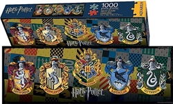 Picture of Harry Potter Crests 1000-Piece Slim Puzzle