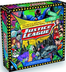Picture of DC Comics Justice League Road Trip Board Game