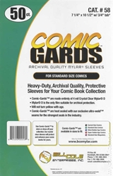 Picture of Comic Standard Mylar 50-Count Pack