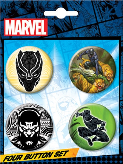 blackpanther4buttonset