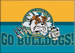 Picture of Riverdale Go Bulldogs Magnet