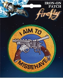 Picture of Firefly I Aim To Misbehave Patch
