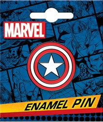 Picture of Captain America Shield Enamel Pin