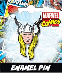Picture of Thor Head Enamel Pin